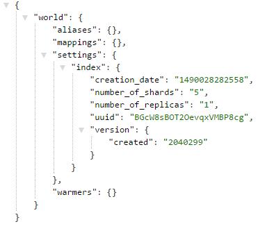 empty-index-structure