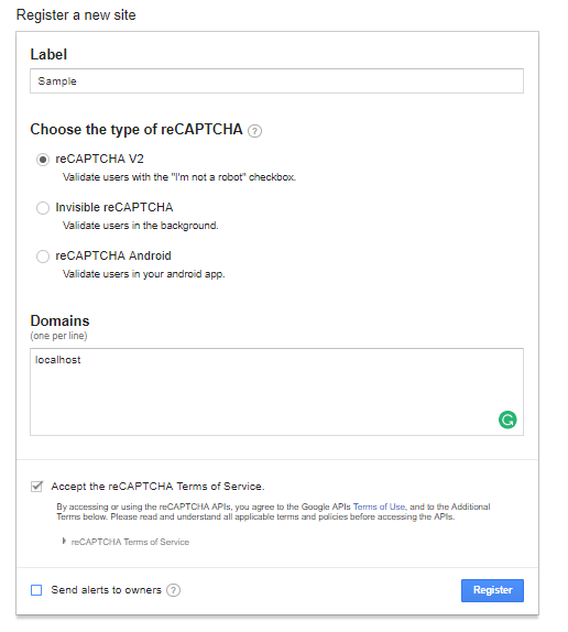 Using Google reCaptcha With Spring Boot Application - DZone Java